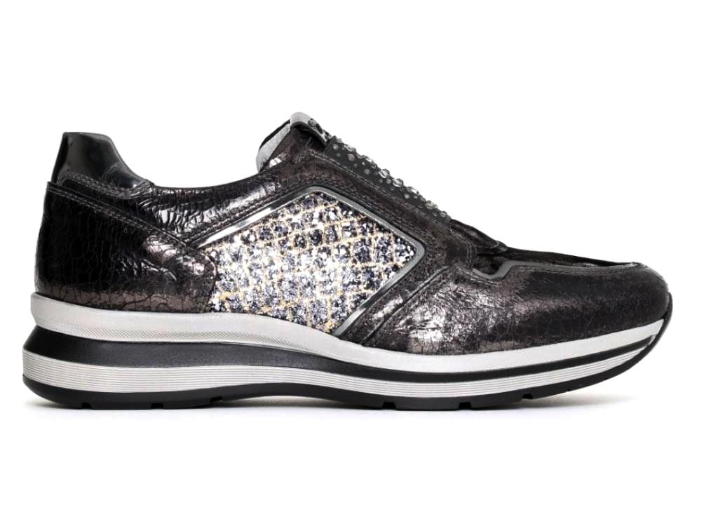 Nero Giardini P719490D Grigio Sneakers Scarpe Donna Calzature Comode