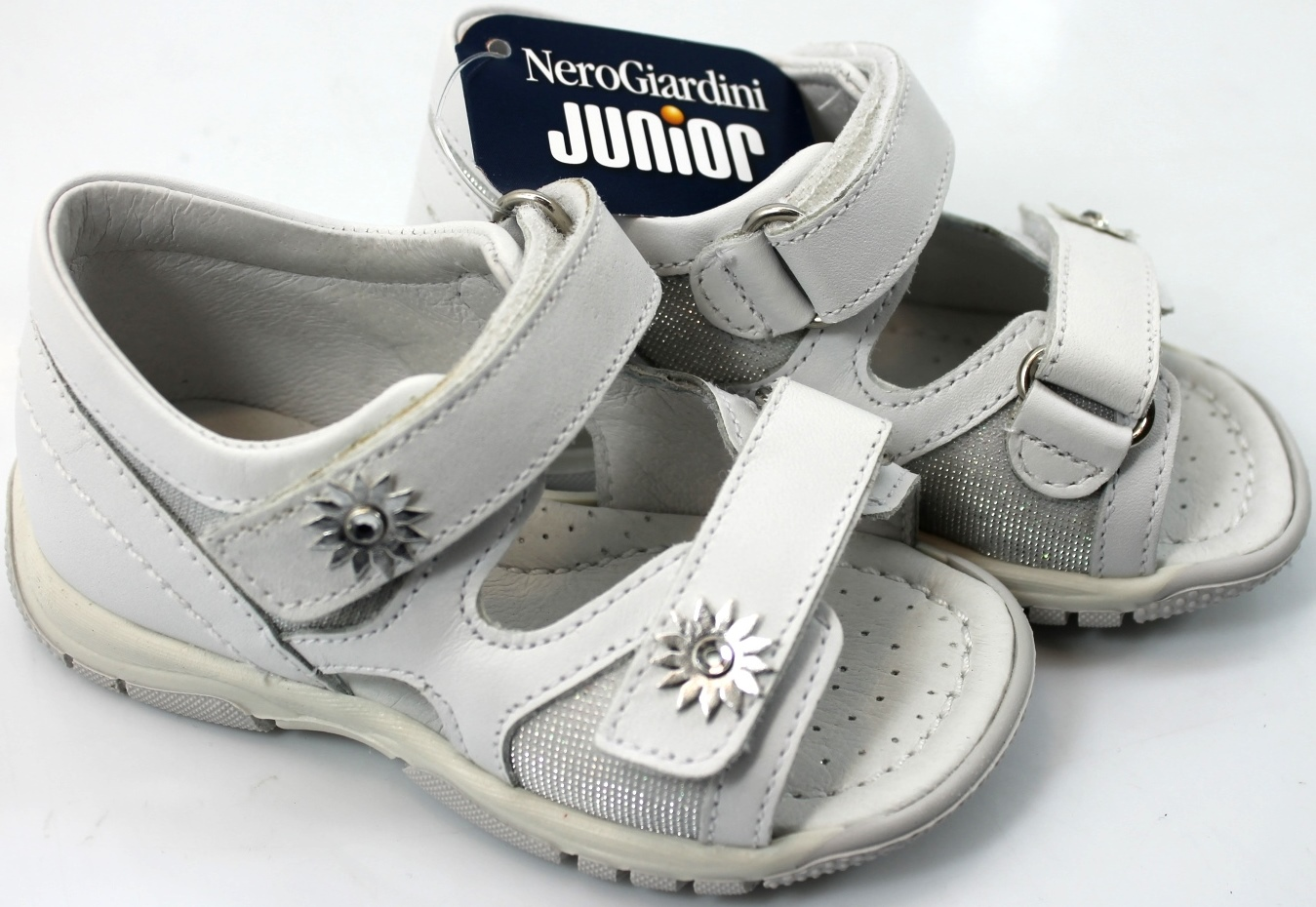 Sneakers con chiusura velcro per bambina NeroGiardini Junior Buscando tWhU1OX