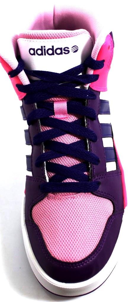 adidas neo bianche e rosa