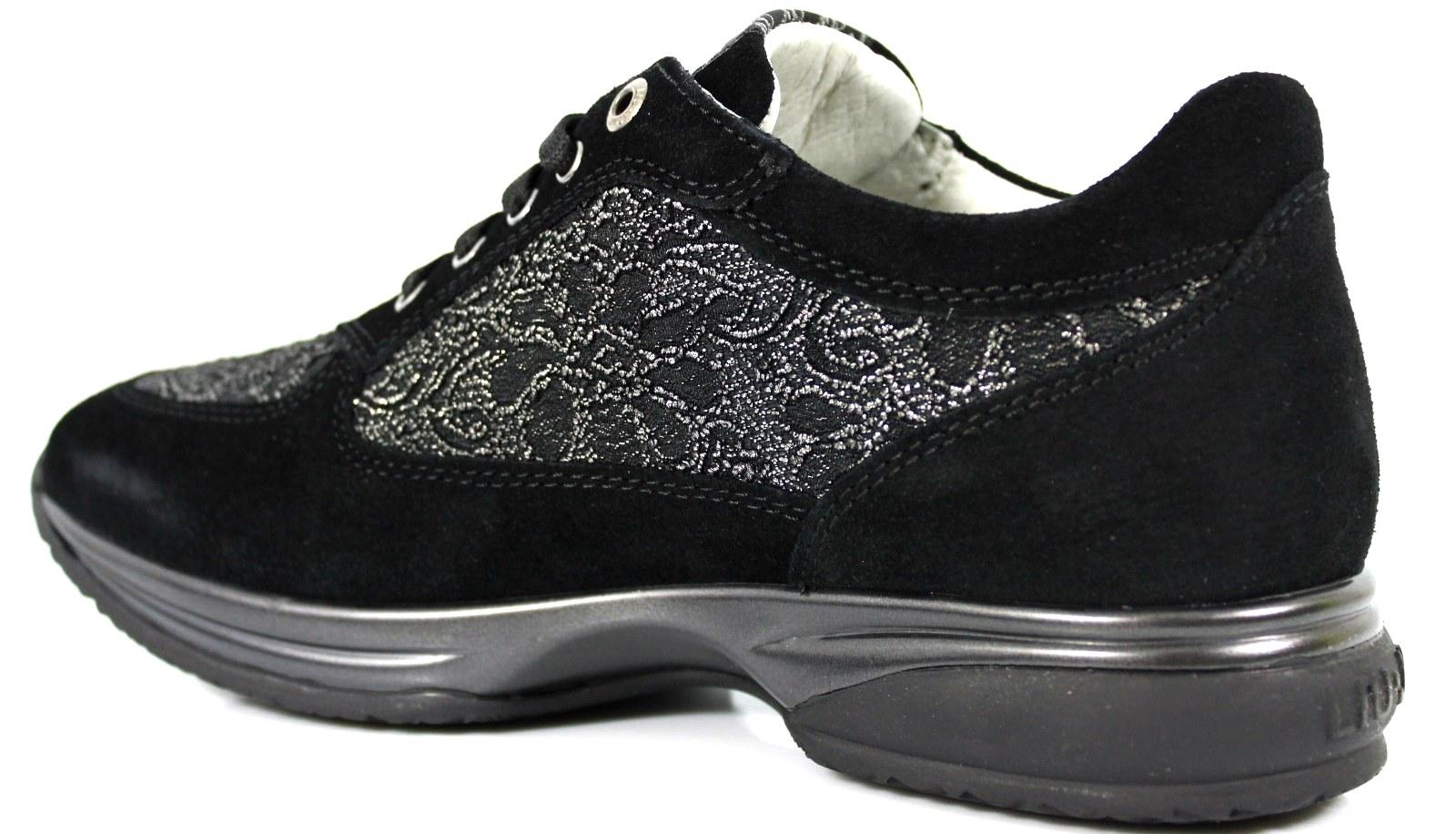 Liu Jo Woman Sneakers UB20828 Scarpe Donna Bambina Zeppa Calzature Woman  Shoes. codice  LiuJoGirlUB20828Nero 9e3e7e07a2b