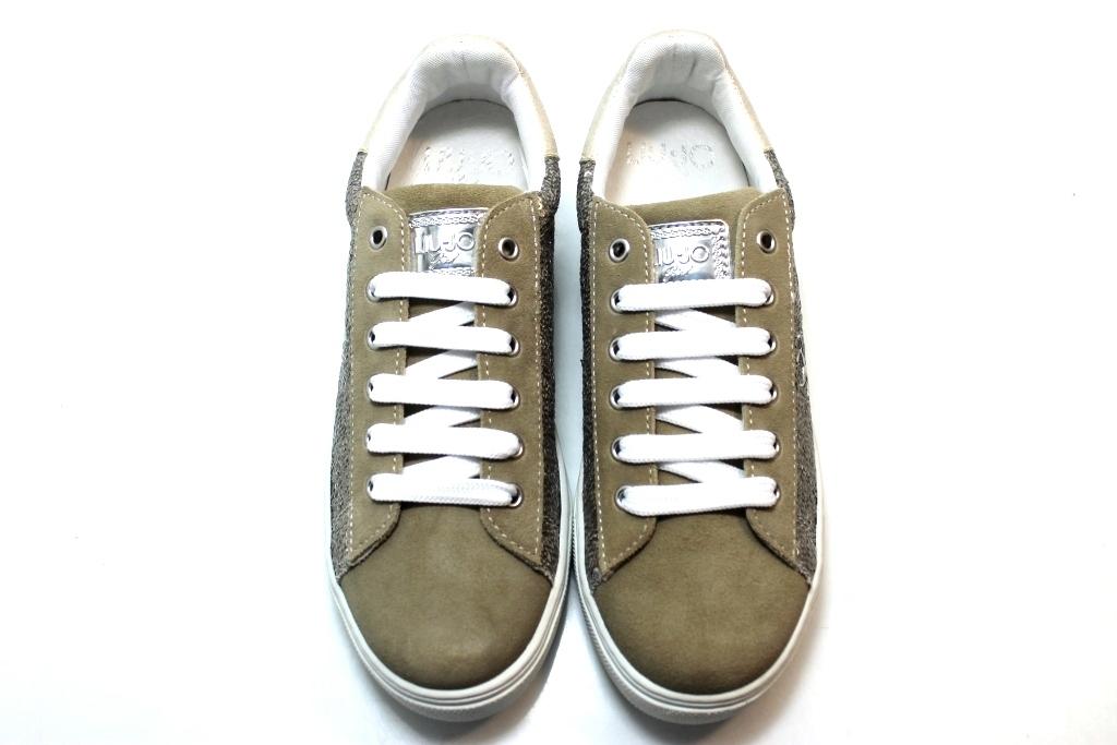 Liu Jo Sneakers UM22060 Taupe Scarpe Bambina Calzature dal 29 al 34 ... 1b87dcf38f50