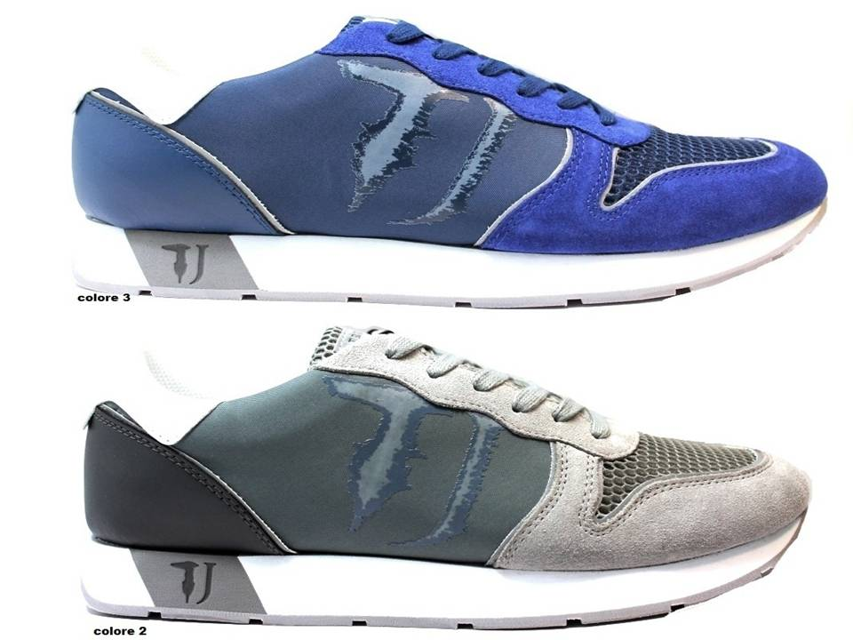 Trussardi Jeans Sneakers Uomo Scarpa Sportiva Casual. codice   TrussardiJeansSneakersUomo 8079f6f7c4d