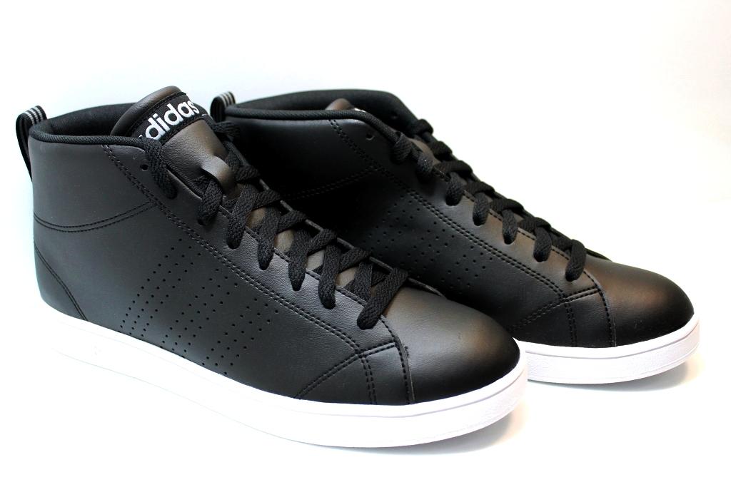 ... Adidas ADVANTAGE CL MID BB9896 Nero Scarpe da Ginnastica Uomo Sneakers Sportive ...