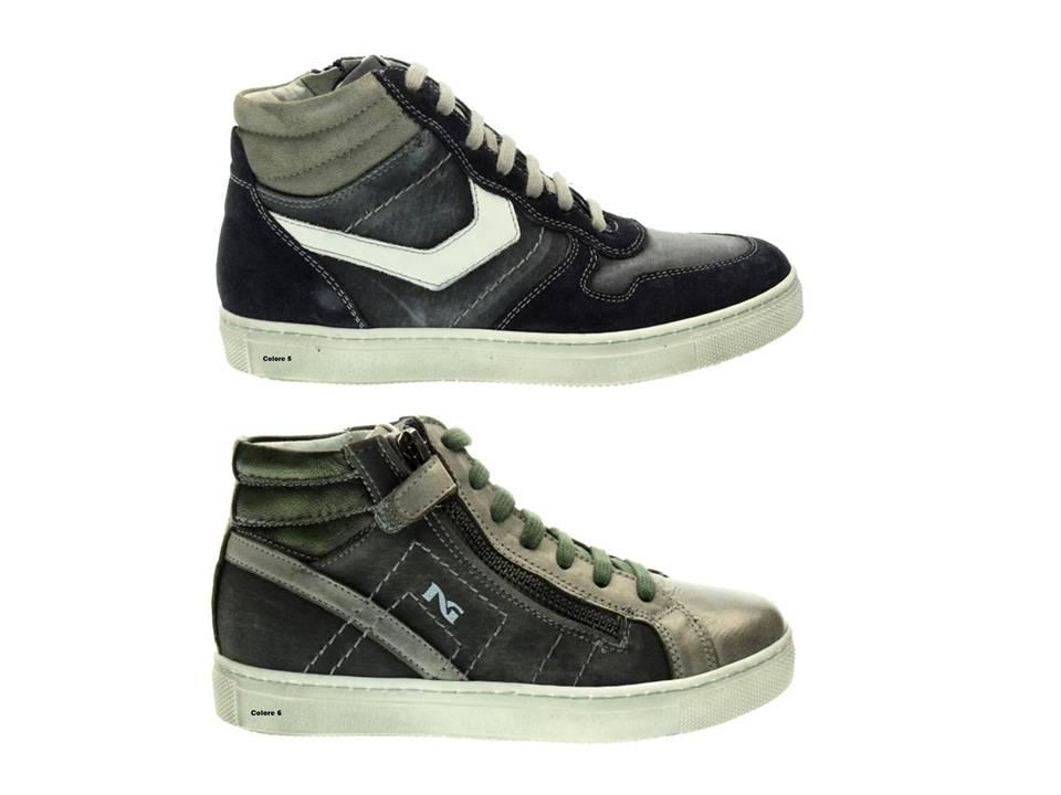 Nero-Giardini-Junior-Scarpe-Polacchine-Bambini-Chiusura-con-Zip miniatura 3