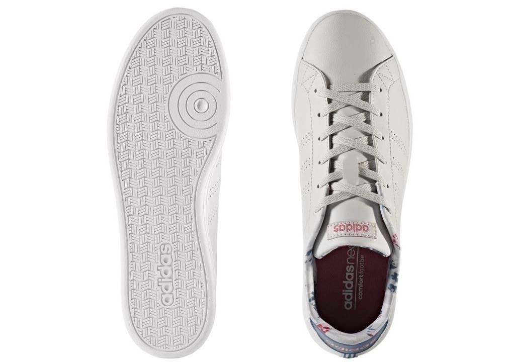 huge discount befdf fdca9 ... Adidas ADVANTAGE CL QT W CG5758 Grigio Scarpe Donna Sneakers Sportive  ...