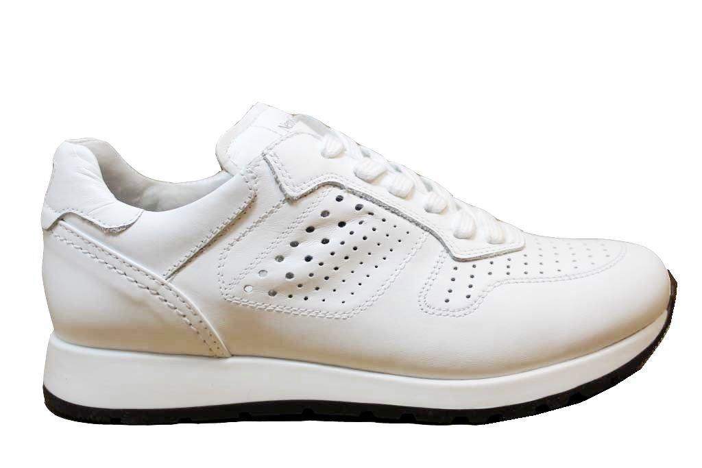 ... Nero Giardini J P833050M Bianco e Blu Sneakers Bambino dal 30 al 39 ... 88b49a0a14d