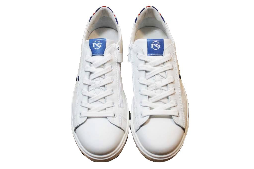 Nero Giardini J P833071M Bianco Sneakers Bambino dal 30 al 39