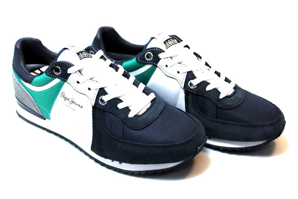 Détails sur Pepe Jeans London PMS30415 Arancio e Nero Sneakers Uomo Scarpa  Casual Sportiva 767b011fc9f