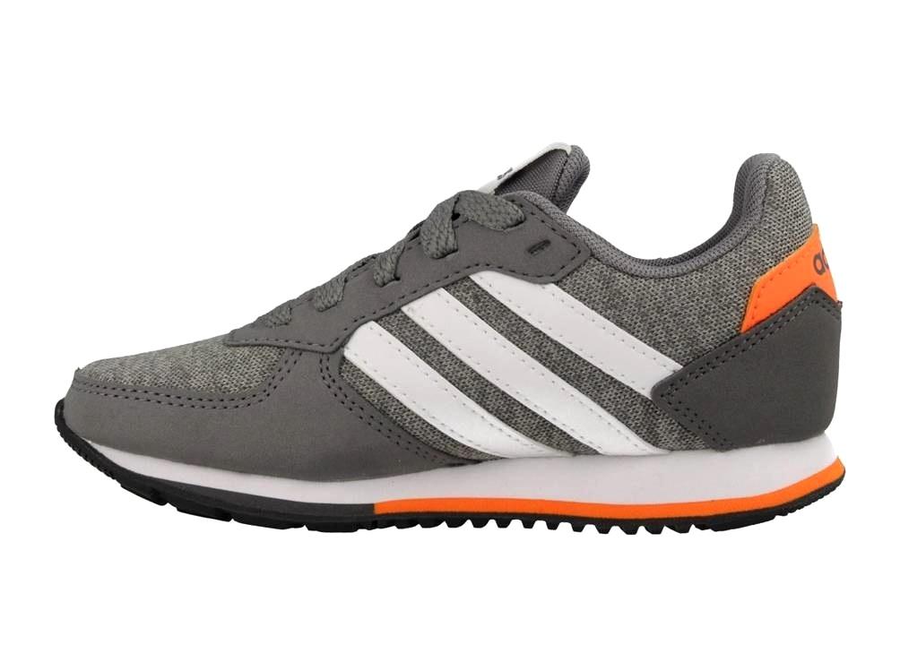 half off 22902 06ed6 ... Adidas 8 K DB1848 Grigio Scarpe Donna Sneakers Sportive ...