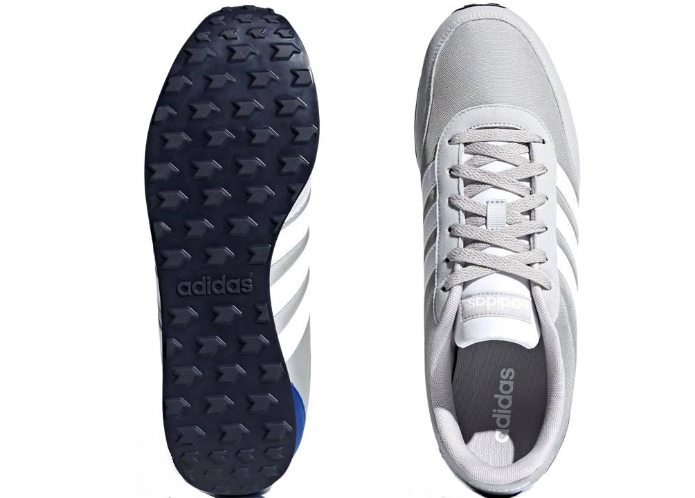 Adidas-V-RACER-2-0-DB0426-Grigio-Scarpe-Uomo-Sneakers-Sportive-Running