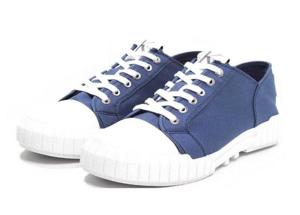 Uomo E Arancio Klein Casual Calvin Sportiva Scarpa Jeans Nylon Blu S0560 Biff 1wFAzq4Y