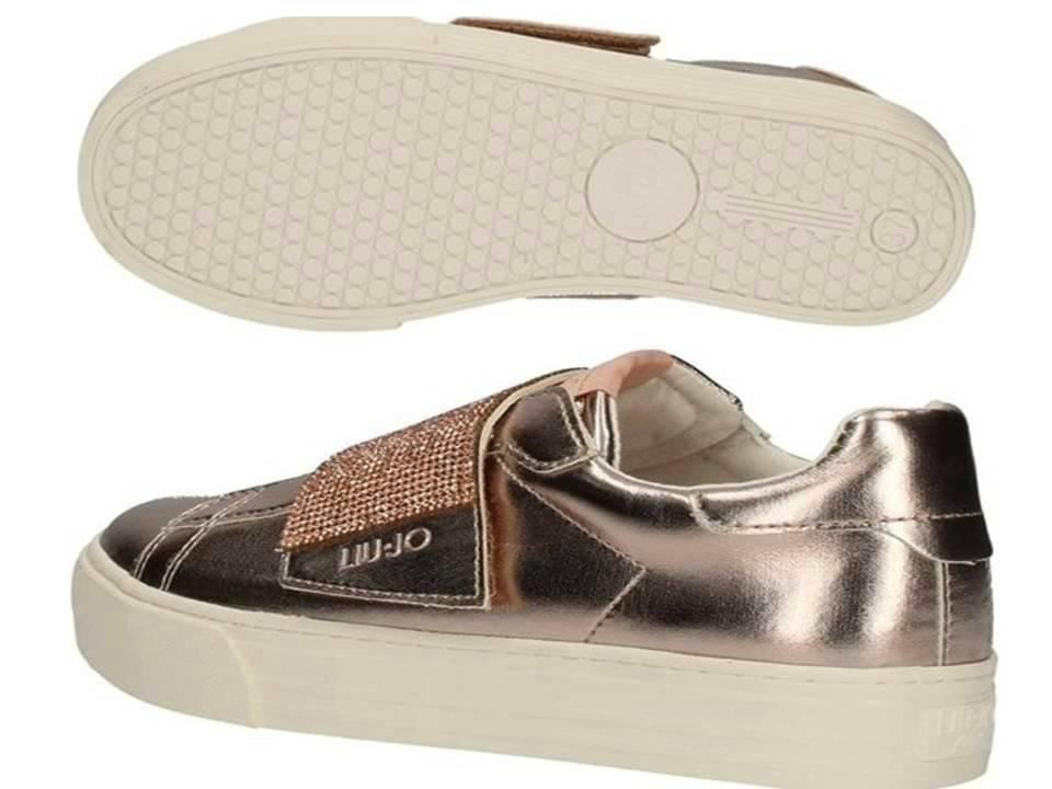 Liu Jo Laminated Girl L3A4 00388 Laminated Jo rosa beige Scarpe da Ginnastica Donna scarpe   4fba0d