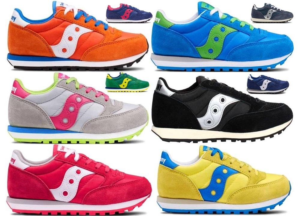 Saucony Jazz Sneakers Donna Bambni Scarpa Casual Sportiva Est 18