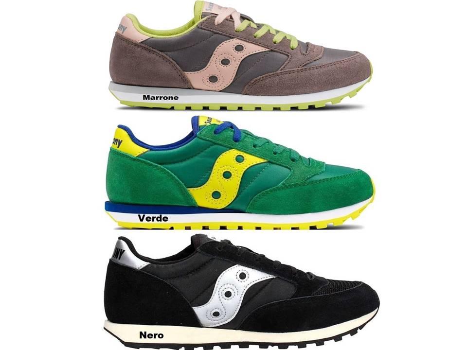 ... Saucony Jazz Sneakers Donna Bambini Scarpa Casual Sportiva Est 18 ... 49b4dc60e3b