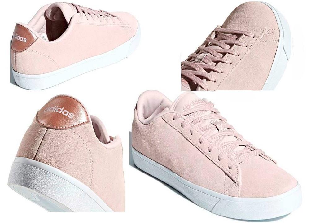 low priced b0c6d 50af5 ... Adidas CF DAILY QT CL W DB1771 Rosa Scarpe Donna Sneakers Sportive ...