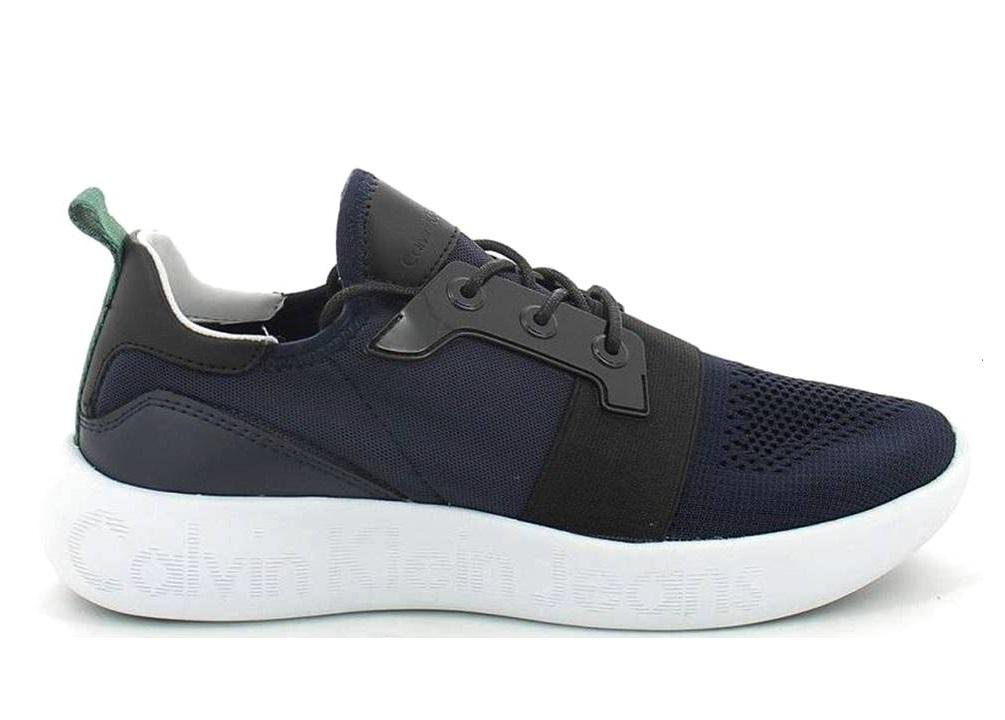 Mel Sportiva Nero Klein Knit Jeans Calvin Uomo Casual E Scarpa Blu S0541 XqEwvxf
