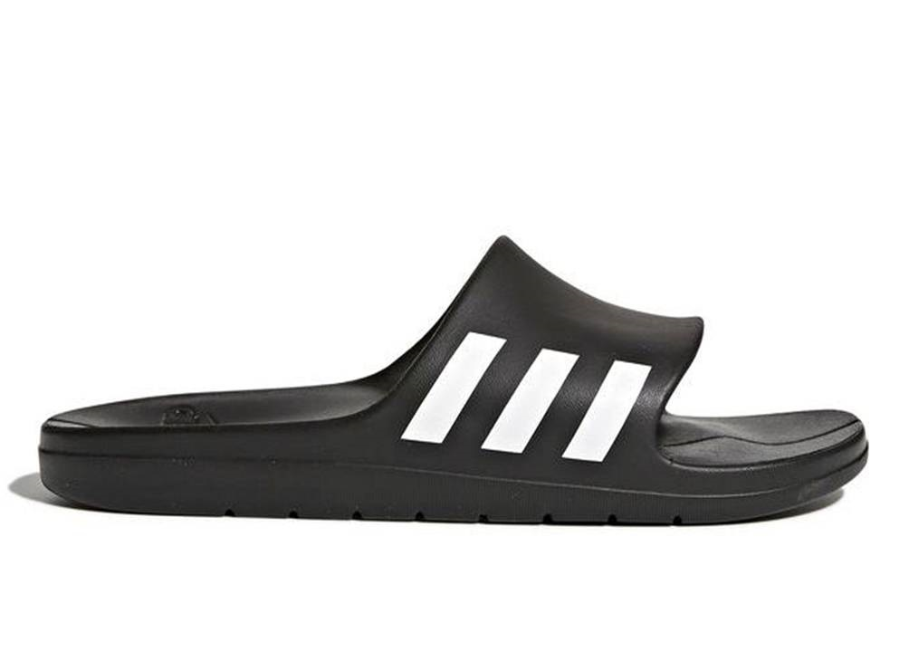 the best attitude f19fb c711c Adidas CG3540 Black Man Beach Shower Slippers Aqualette