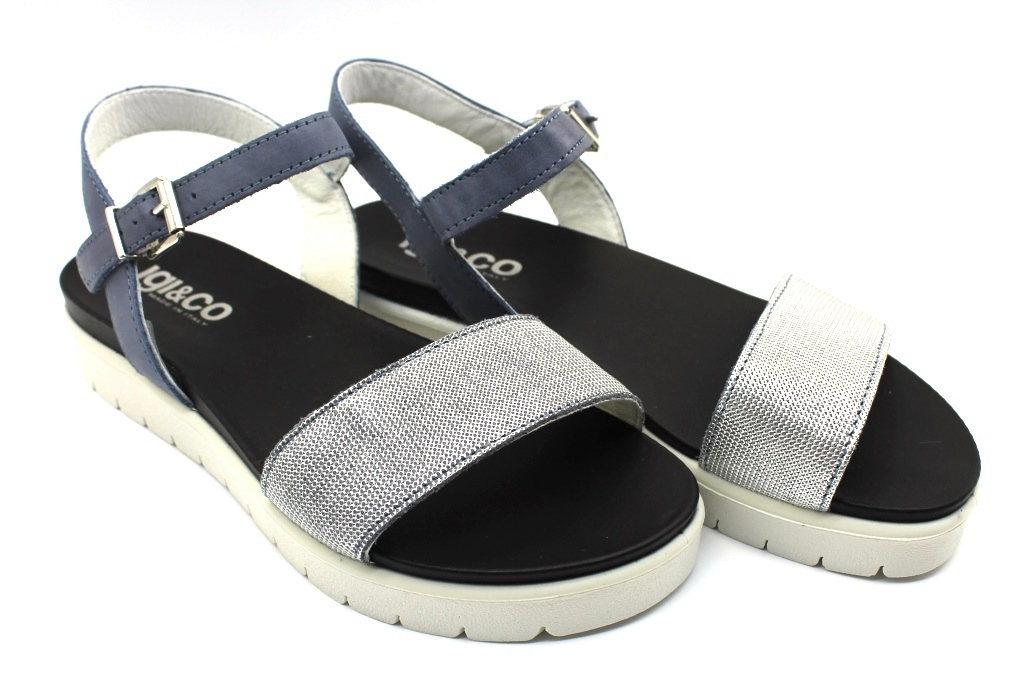Footwear and CO 1170911 Comfortable Low IGI Sandals eBay Woman Jeans ISqSd