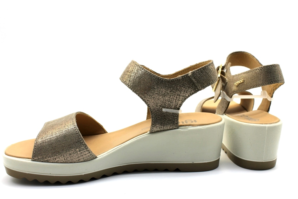 Cómodo De Calzado Bajas Original Mostrar Detalles Co 1173766 Título Acerca Sandalias Mujer Y Bronce Igi TlJKc1F