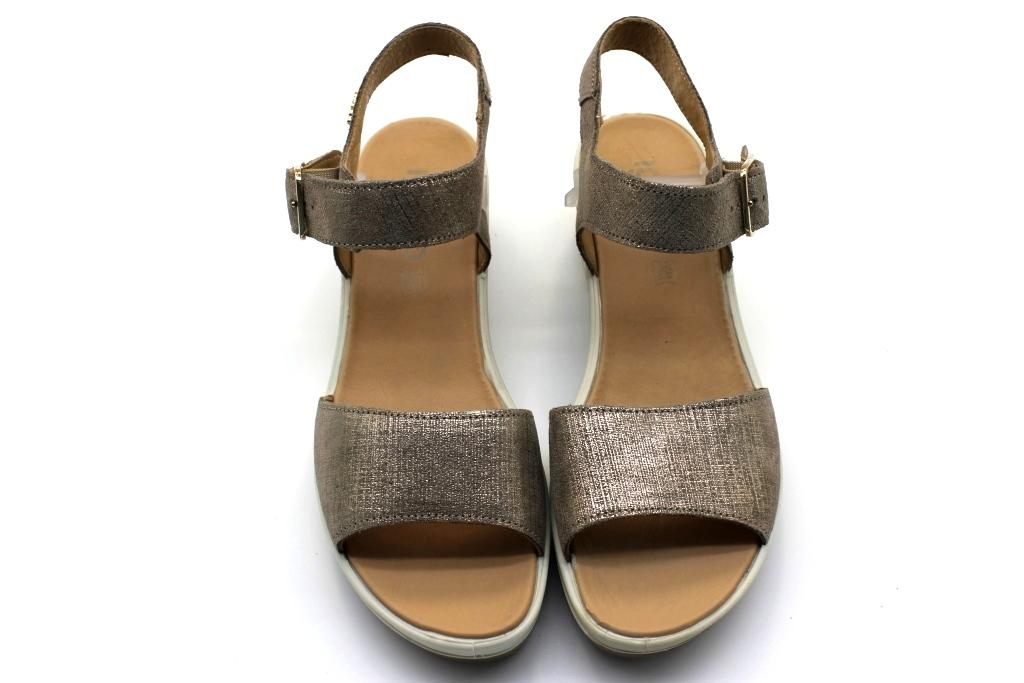 Mujer 1173766 Original Bronce Calzado Mostrar Co Sandalias Cómodo Bajas Igi Detalles Título De Acerca Y qMpSzGUV