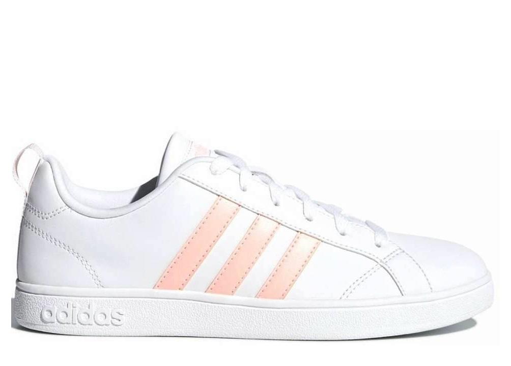 official photos f62d1 c09a5 Adidas VS ADVANTAGE B42306 Bianco Scarpe Donna Sneakers Sportive