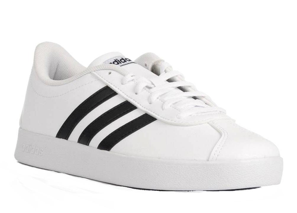 Adidas VL COURT 2.0 VS DB1831 Bianco Scarpe Donna Sneakers Sportive