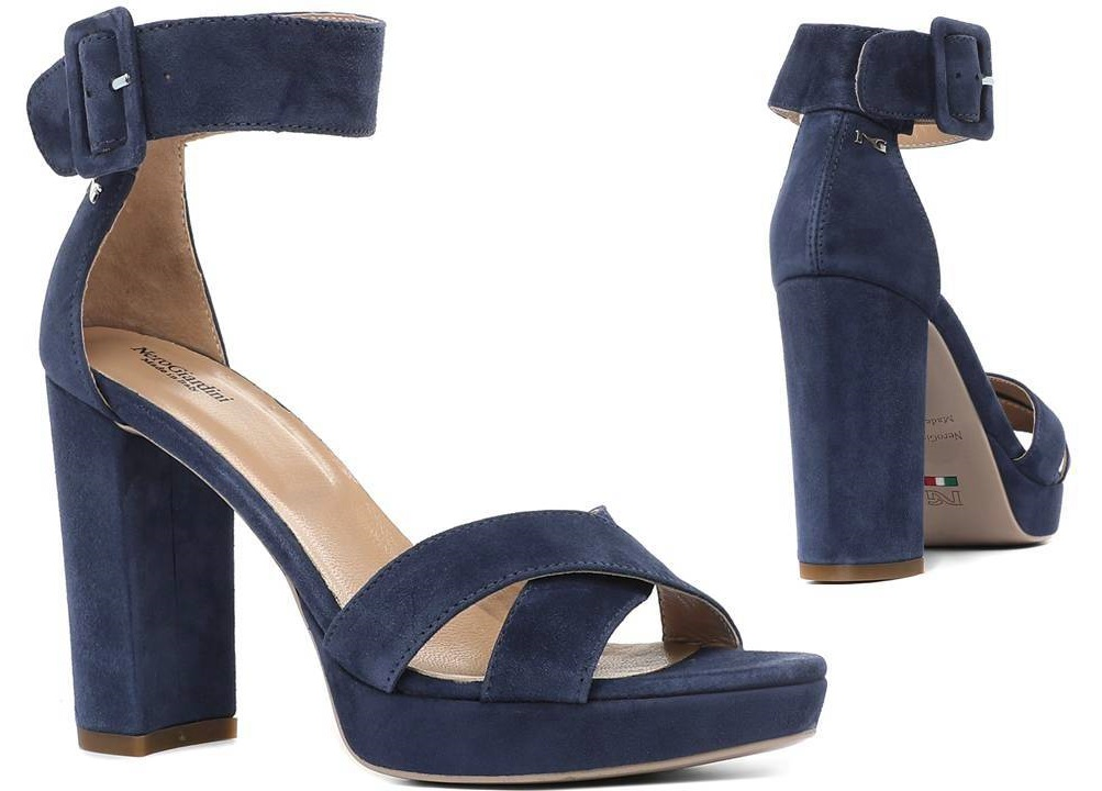 NeroGiardiniP805840DBlu - Scarpe Donna - lagrotteria scarpe moda ... 1d4ca497a8b