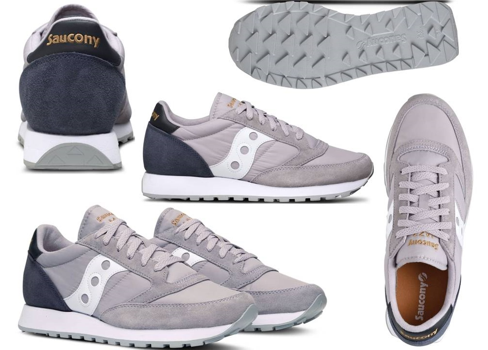 SauconyS2044451Grigio - lagrotteria scarpe moda - Saucony Jazz S2044 ... 8bf671362d6