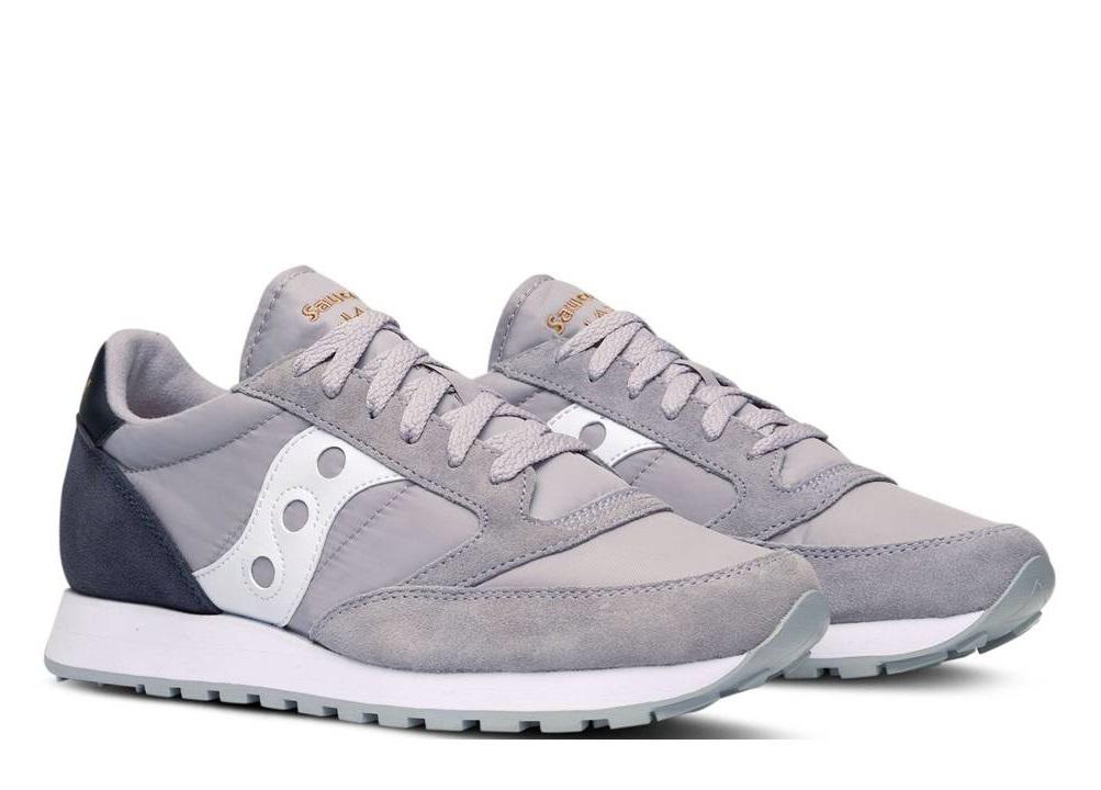 ... Saucony Jazz S2044 451 Grigio Sneakers Uomo Scarpa Sportiva Casual ... 31acfa42ce5