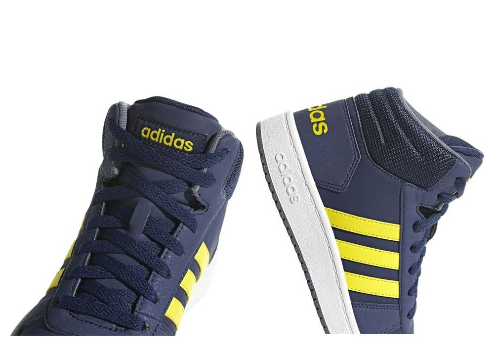 on sale 08c7d c3107 adidas Aros Medio 2.0 K B75748 Azul Zapatos De Mujer Ni ñ os Zapatillas  Gimnasia