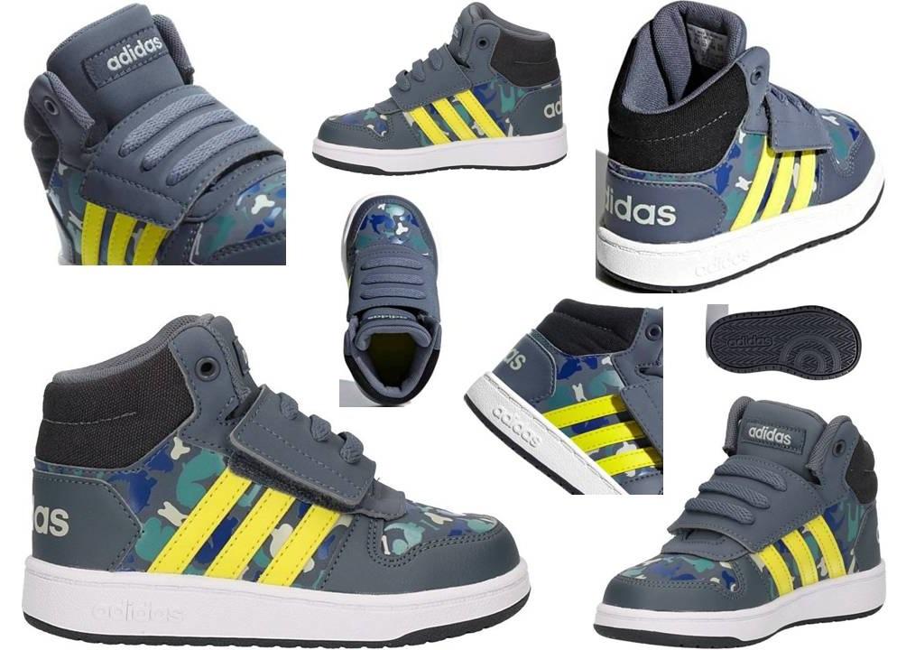 ... Adidas B75954 Grigio Dal 20 al 27 Sneakers Con Strappo Scarpe Bambino  Ginnastica b5425f2bfec