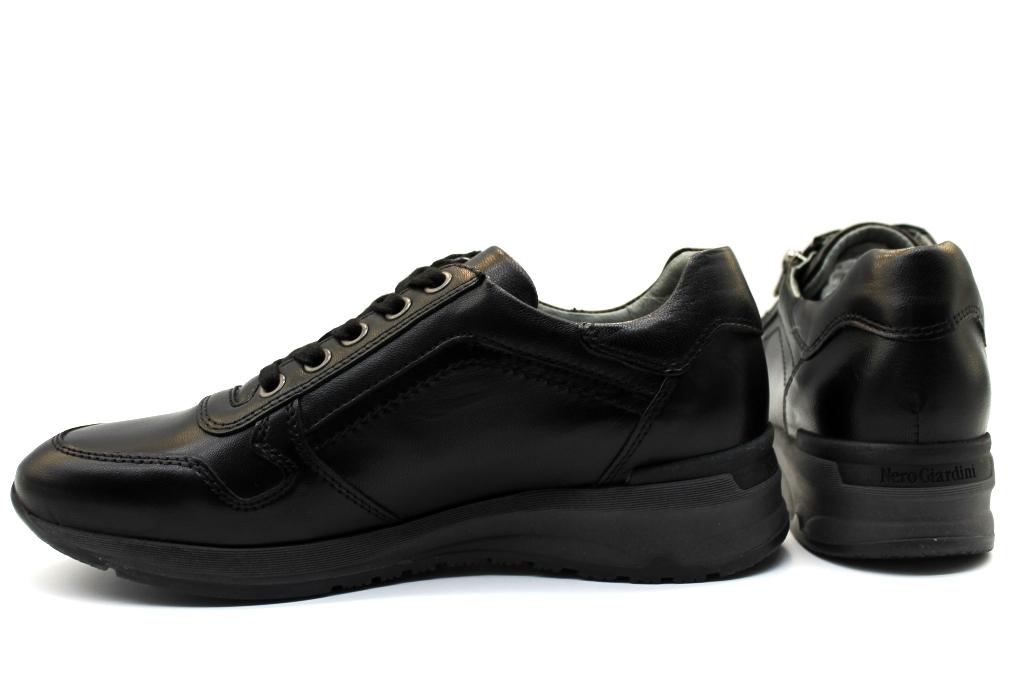 Calzature Scarpe Sneakers P806430d Nero Donna Casual Giardini nC88qxZ
