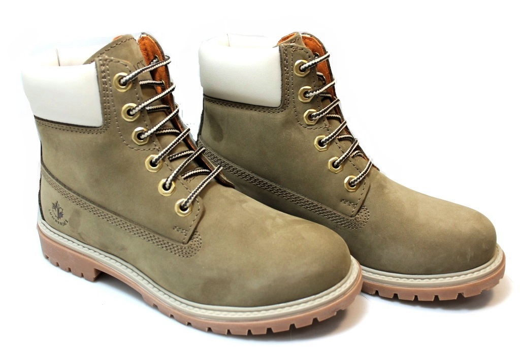 Descrizione. Lumberjack SW00101-015 D01 Taupe-white Boots Women Shoes. 0fe5376cd56