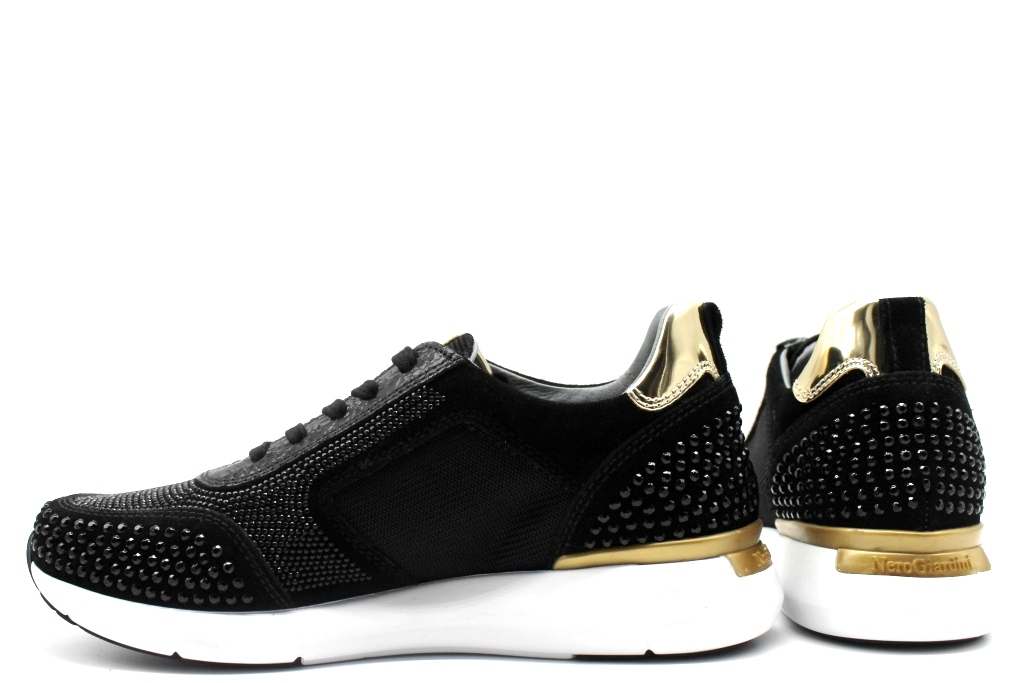 black black black Giardini A806592D black Sneakers shoes women Calzature Comode 74e119