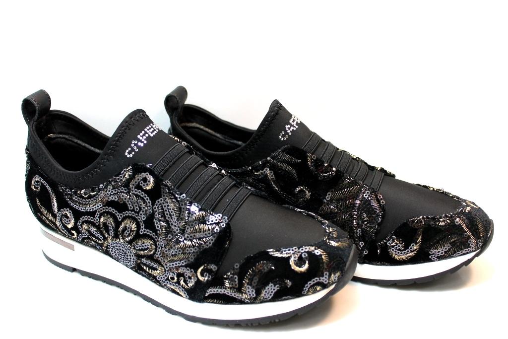 CAFeNOIR LDL901 Nero Sneakers Schuhe Damenschuhe Damenschuhe Schuhe Comode Fashiom e632aa