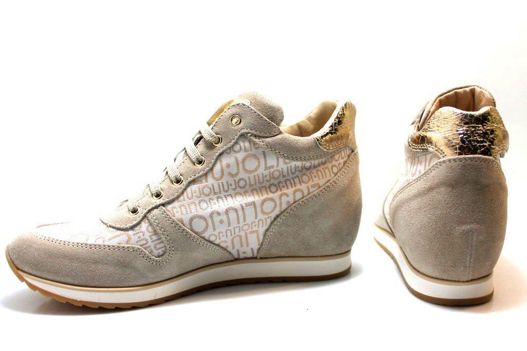 0595bc58c2372 Liu Jo Girl B21278 Sneakers Scarpe Bambina Zeppa Interna Calzature dal 30  al 34