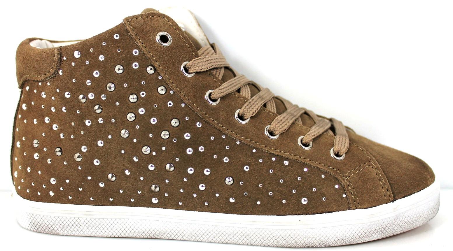 Polacchine Camoscio Liu Jo UM20773 Scarpe Donna Bambina Calzature Woman  Shoes 73be05be4f8