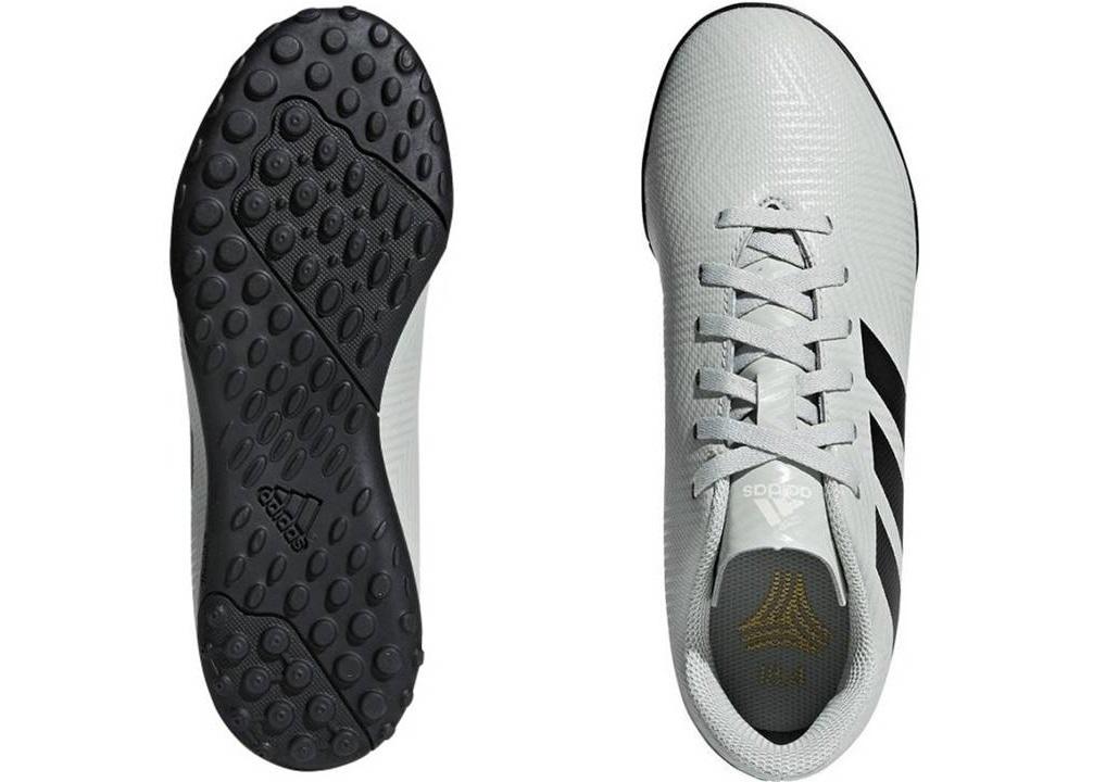 b39566e6addb4 Descrizione. Adidas NEMEZIZ TANGO 18.4 TFJ DB2380 Grigio chiaro Sneakers Bambino  Sportive da ...