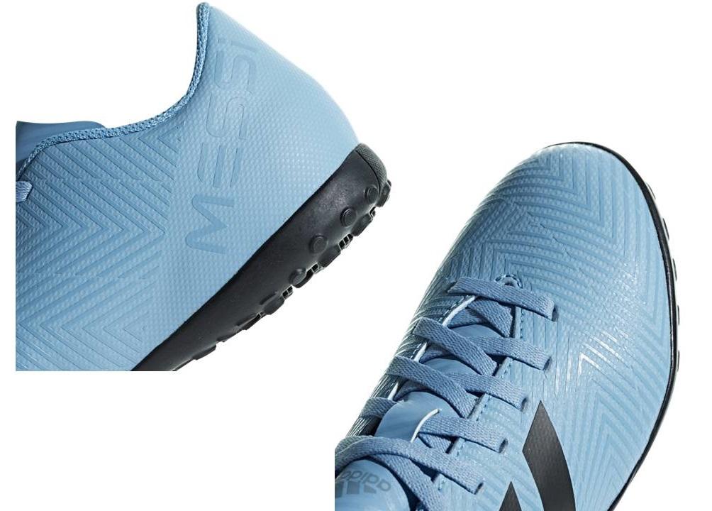 e2f8a56a80762 Descrizione. Adidas NEMEZIZ TANGO 18.4 TFJ DB2400 Celeste Sneakers Bambino  Sportive da ...
