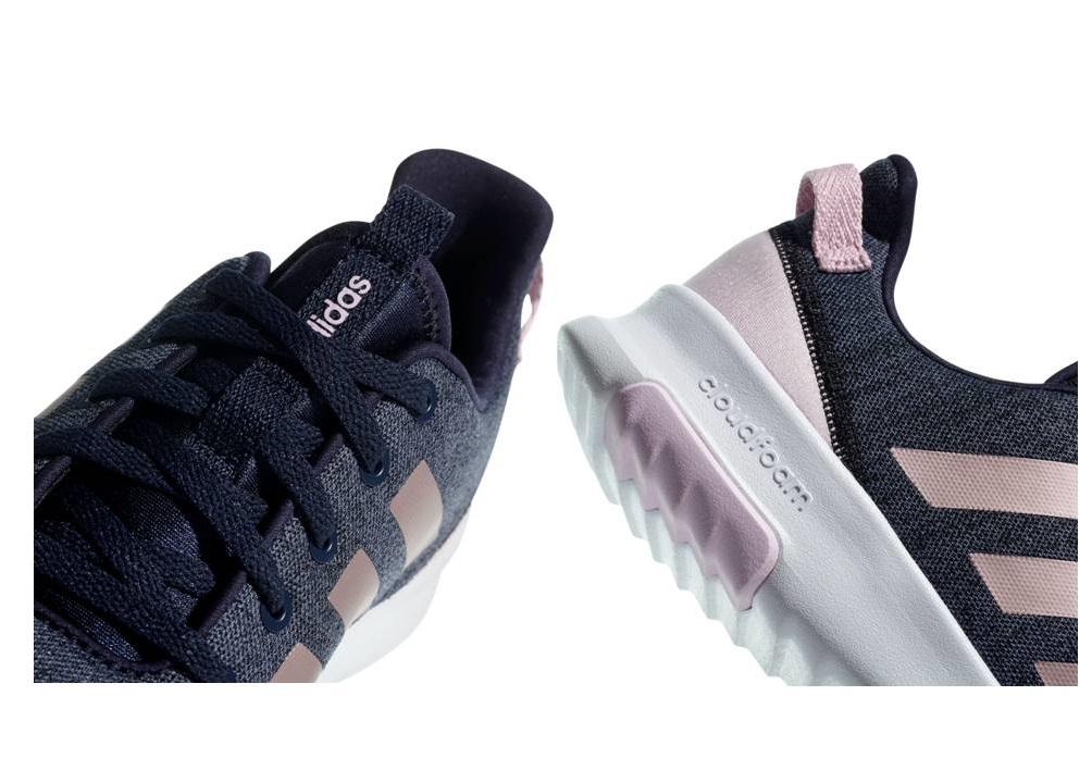 reputable site 13d90 3d525 Descrizione. Adidas CF RACER TR K B75662 Blu con baffatura rosa Scarpe  Donna Bambini Sneakers Sportive.