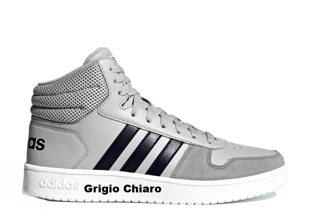 size 40 3d398 8a208 ... Adidas HOOPS 2.0 MID Scarpe da Ginnastica Uomo Sportive