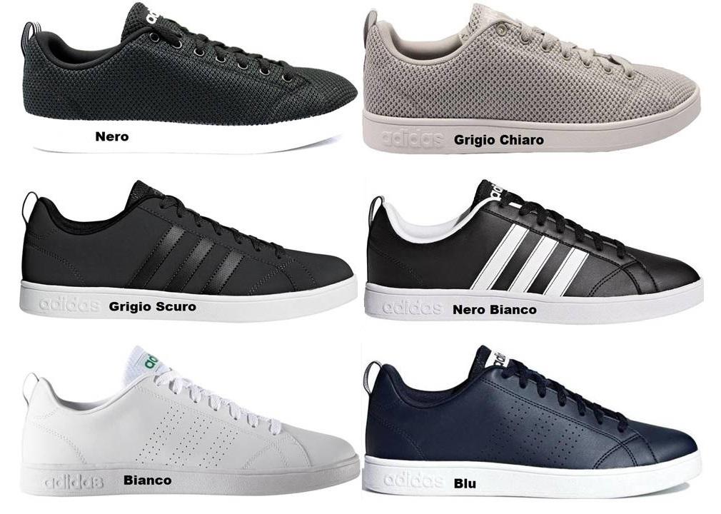 Dettagli su Adidas VS ADVANTAGE Scarpe da Ginnastica Uomo Sportive