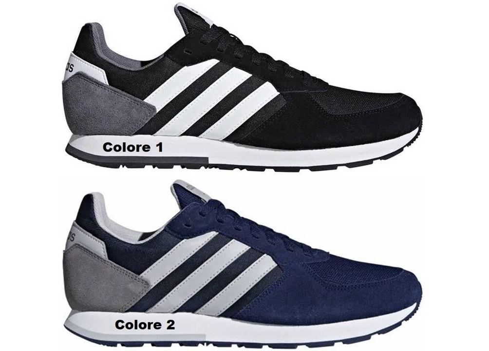 online store 24536 61d65 ... Adidas 8 K Scarpe Uomo Sneakers Sportive ...