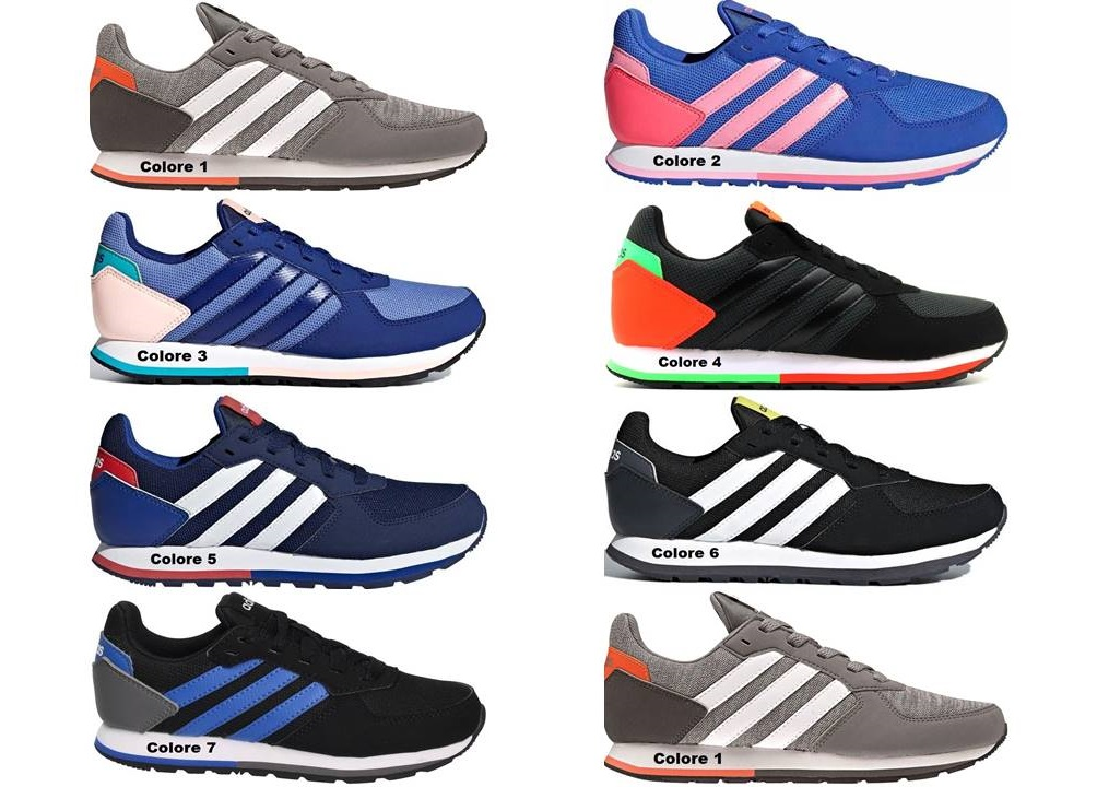 Adidas 8 K Scarpe Donna Sneakers Sportive