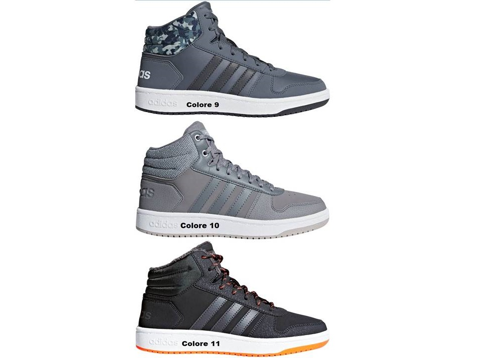 scarpe adidas hoops donna