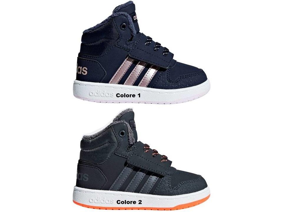... Adidas HOOPS MID 2.0I dal 20 al 27 Scarpe Con Strappo Bambino  Ginnastica ... e09bdca9fe3