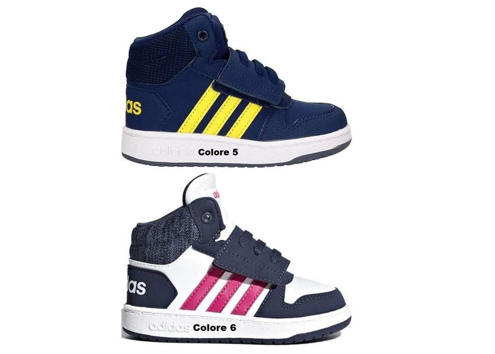 1032cfae6ca9c Adidas HOOPS MID 2.0I dal 20 al 27 Scarpe Con Strappo Bambino ...