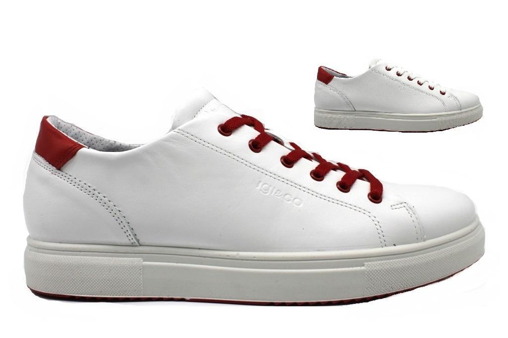 buy popular c3e0b 8b273 Dettagli su IGI e CO 3132700 Bianco Sneakers Scarpe Uomo Calzature Casual