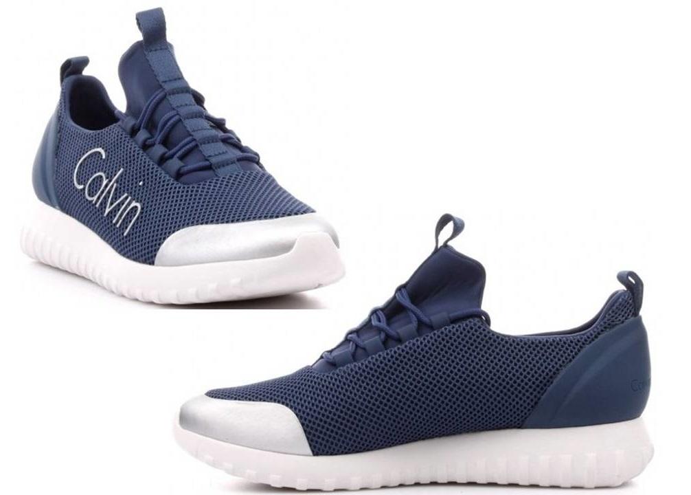 Calvin Klein Jeans RON MESH S0506 Blu Scarpa Uomo Sportiva Casual  4a27963942d
