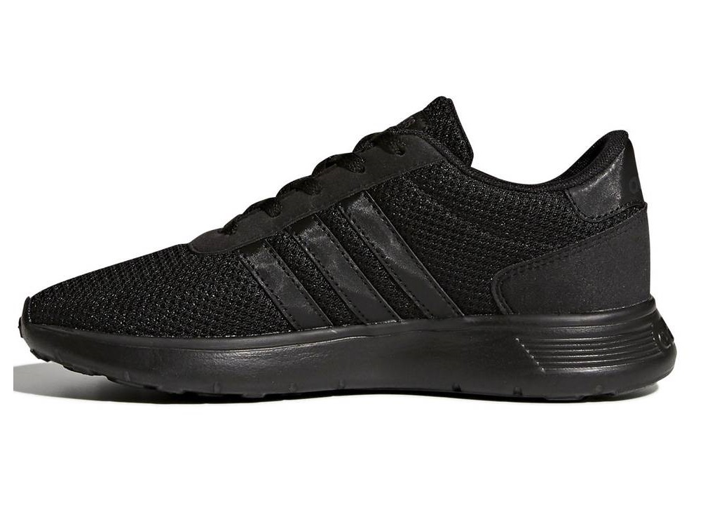 quality design 779b3 77d18 Adidas LITE RACER K BC0073 Nero Scarpe Donna Bambini Sneakers Sportive  Running